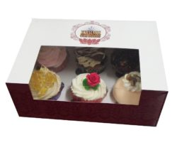 Choose your own 6 pack of gourmet cupcakes