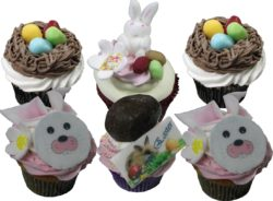 6 Easter Cupcakes