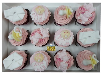 It's A Girl Cupcakes