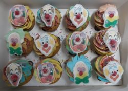 Mini Clown Cupcakes
