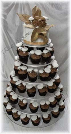 Forest Mushroom wedding cake