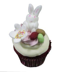 Red Velvet Easter bunny