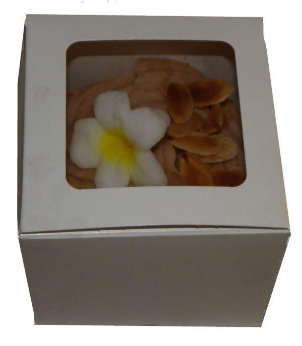 1 Single cupcake Box with window