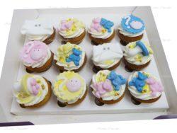 Baby Gender Reveal Cupcakes
