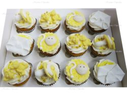 Gender Neutral Baby Shower Cupcakes