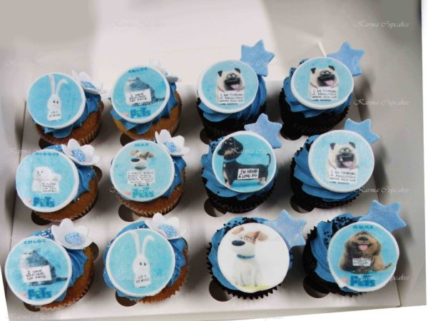 Pet Cupcakes with Edible Images