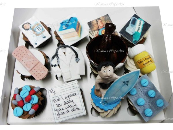 Medical 3D Cupcakes - Quote Required