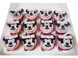 Minnie Mouse Handmade Themed Cupcakes