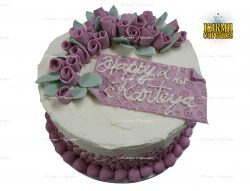 Sugar Roses Birthday Cake - Choose your colours