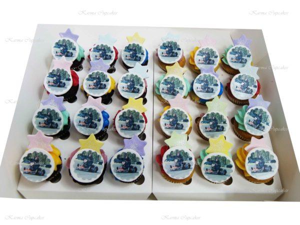 Go Cart Mini Cupcakes