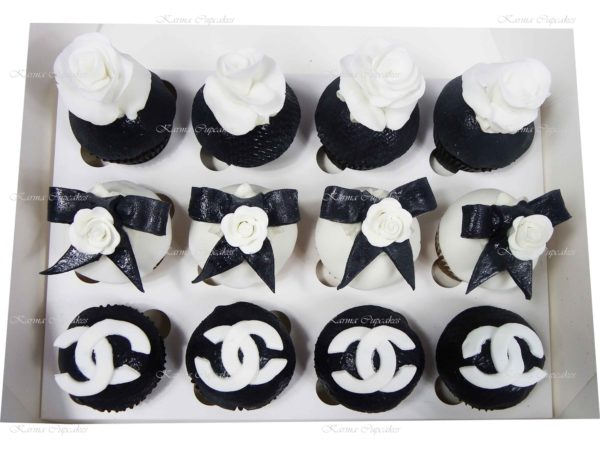 Chanel Cupcakes - Design 1