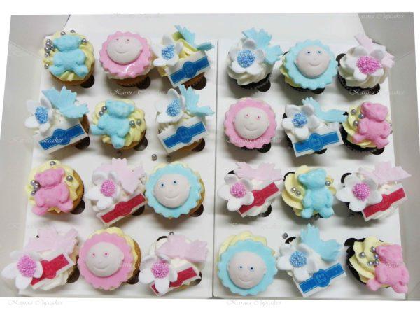 Baby Shower Mini Cupcakes