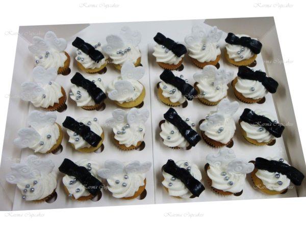 Engagement Mini Cupcakes