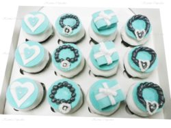 Tiffany & Co Cupcakes with Handmade Jewels