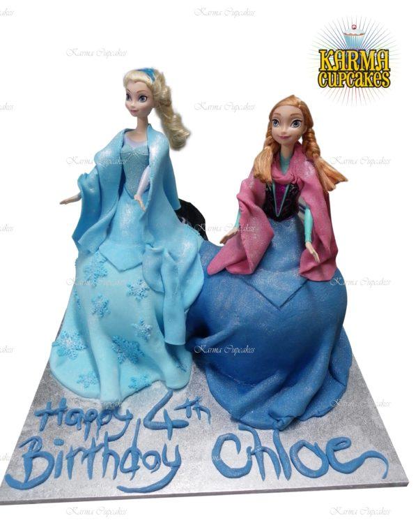 3D Doll Cakes