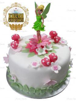 Tinker Bell Doll Themed Cake