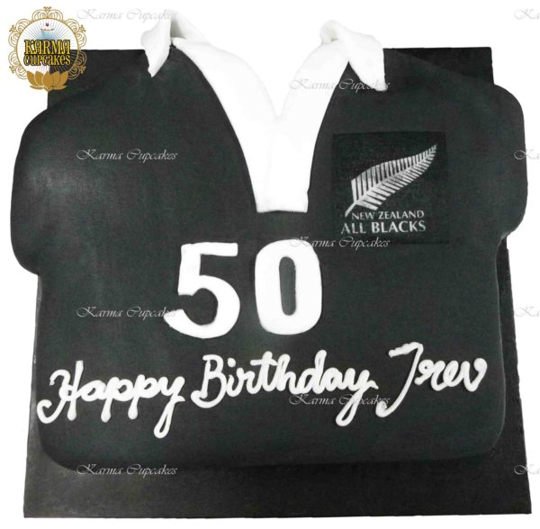All Blacks Slab Cake