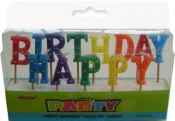 Happy Birthday Polka Dot Candles
