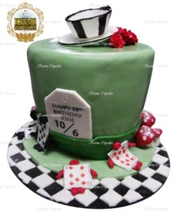 Mad Hatter 3D Birthday Cake