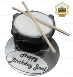 Drum Set Birthday Cake