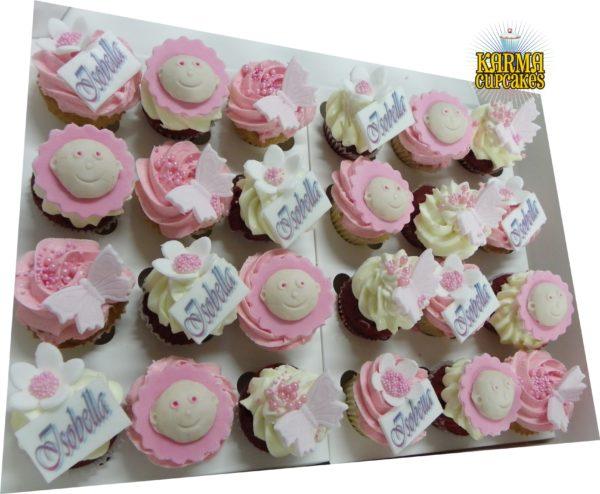 It's A Girl Mini Cupcakes