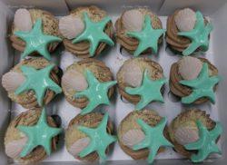Sea Shell and Starfish Cupcakes