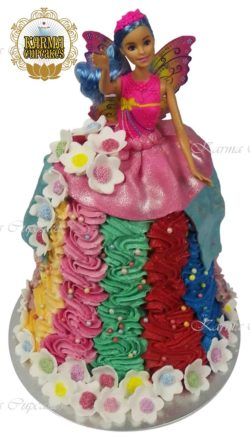 Barbie 3D Doll Cake
