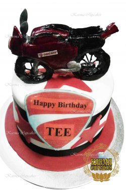 3D Motorbike Cake - choose your bike