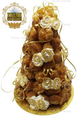 Birthday Croquembouche