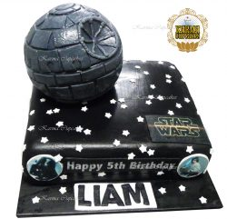 Star Wars Slab Cake