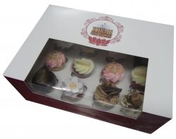 Gourmet High Tea Mini Cupcakes and Classic Mini Cupcakes. Orders in by 4pm for next day pick up/ delivery