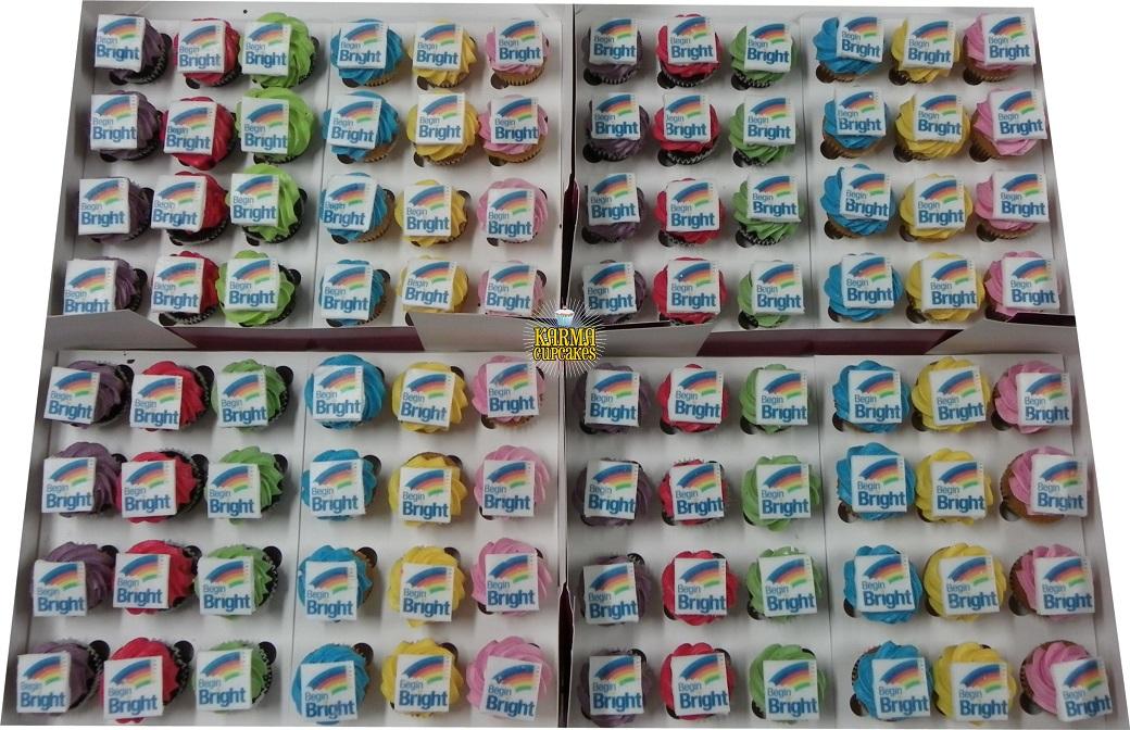 Edible Image, Photos, Logos and Corporate cupcakes