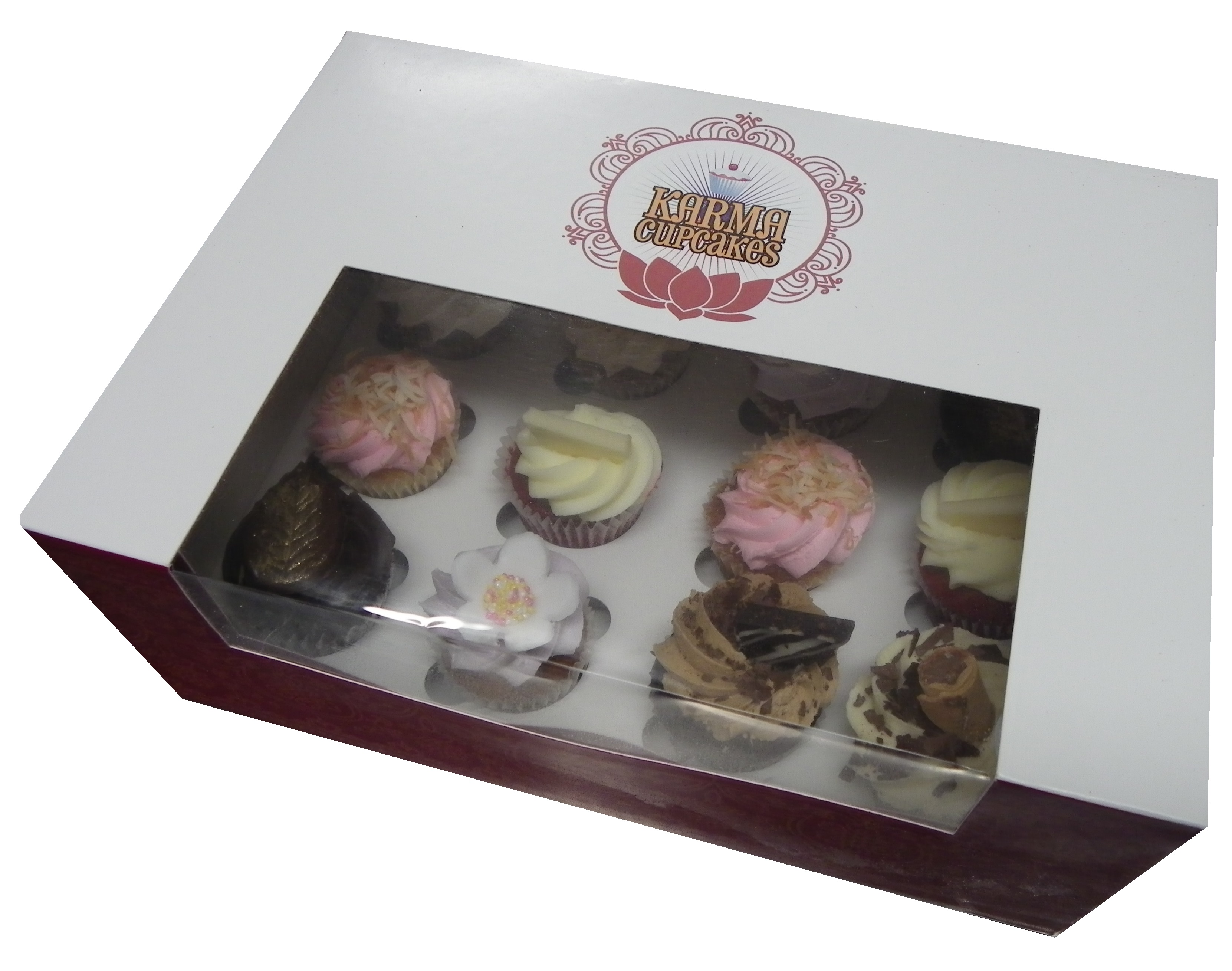 High Tea Mini Cupcakes