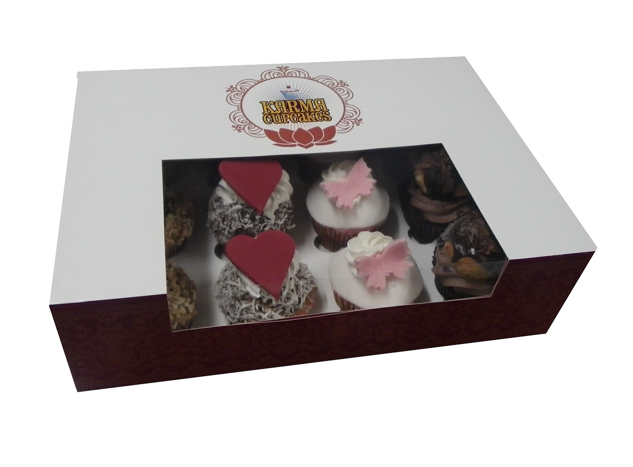 Choose your own 12 pack of our gourmet cupcakes