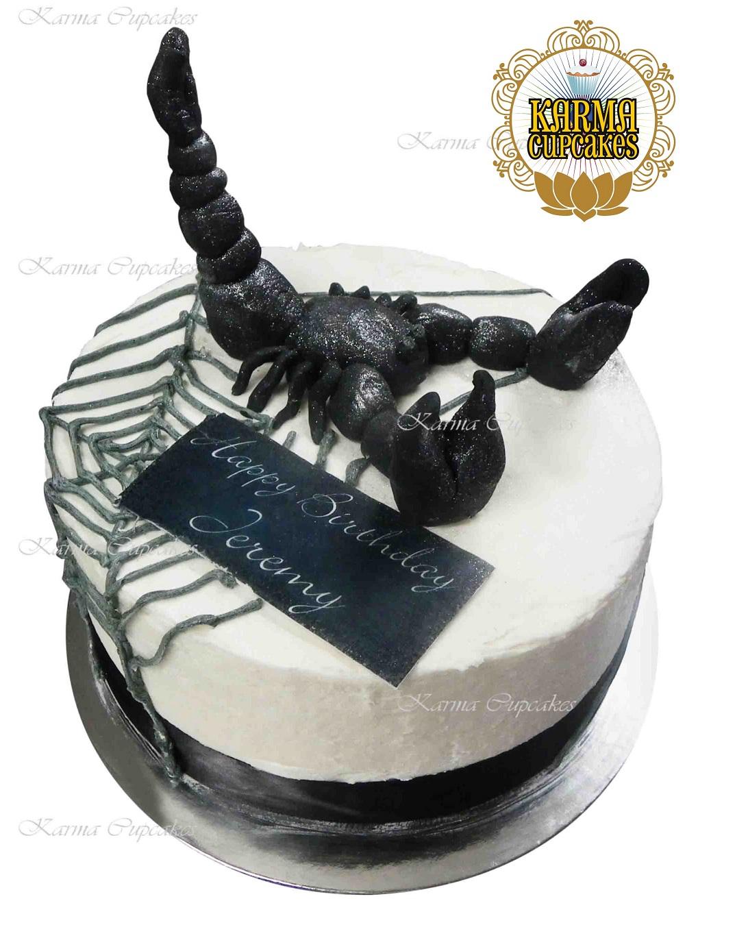 Scorpion Cake