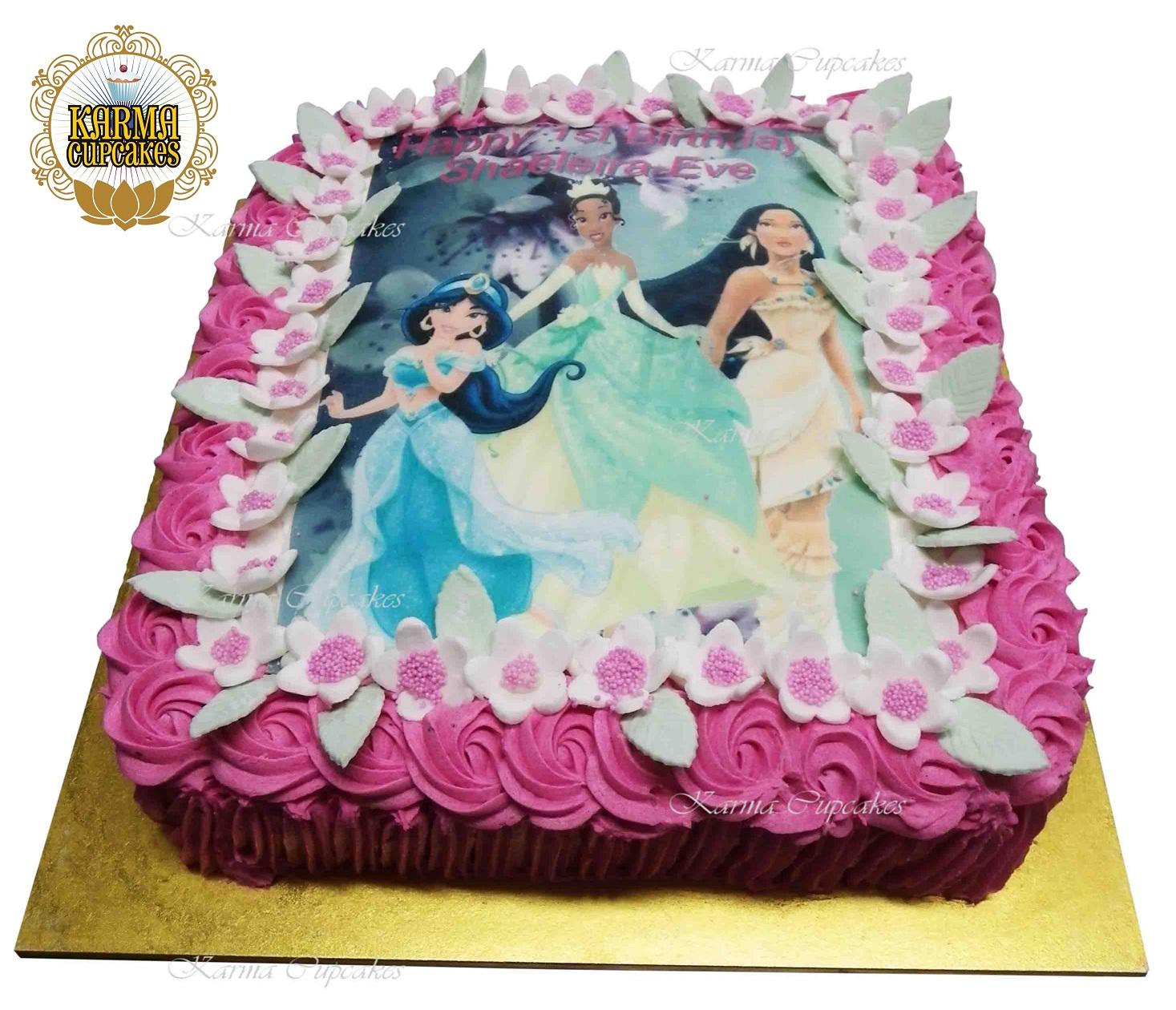 Disney Princess's Slab Cake
