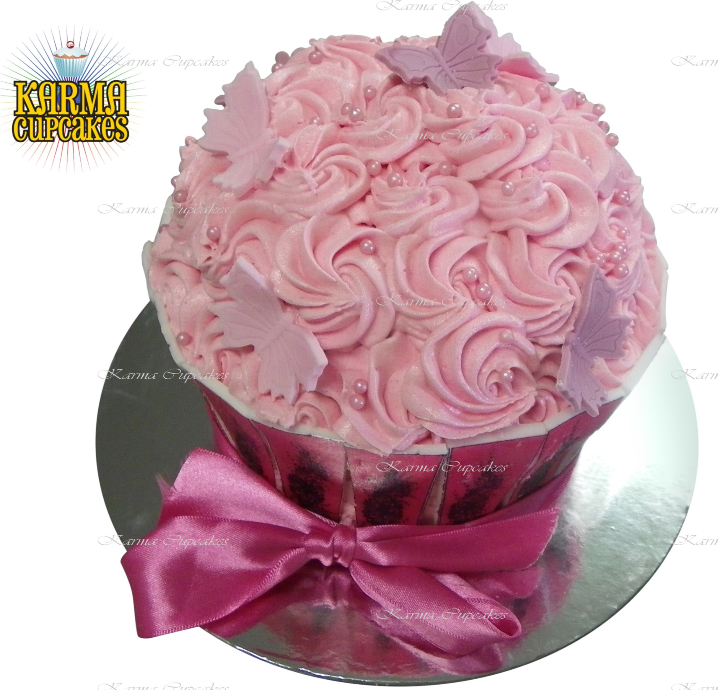 Giant Cupcake - choose your colour/s