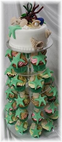 Themed Cupcake Tower