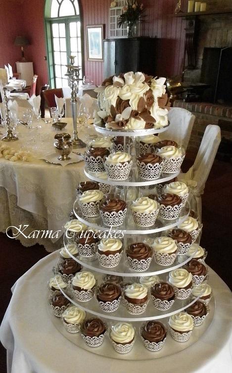 Vegan/ Gluten friendly cupcake tower