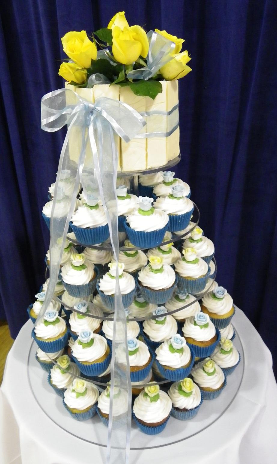 White Chocolate Bliss Cupcakes & White Chocolate Torte