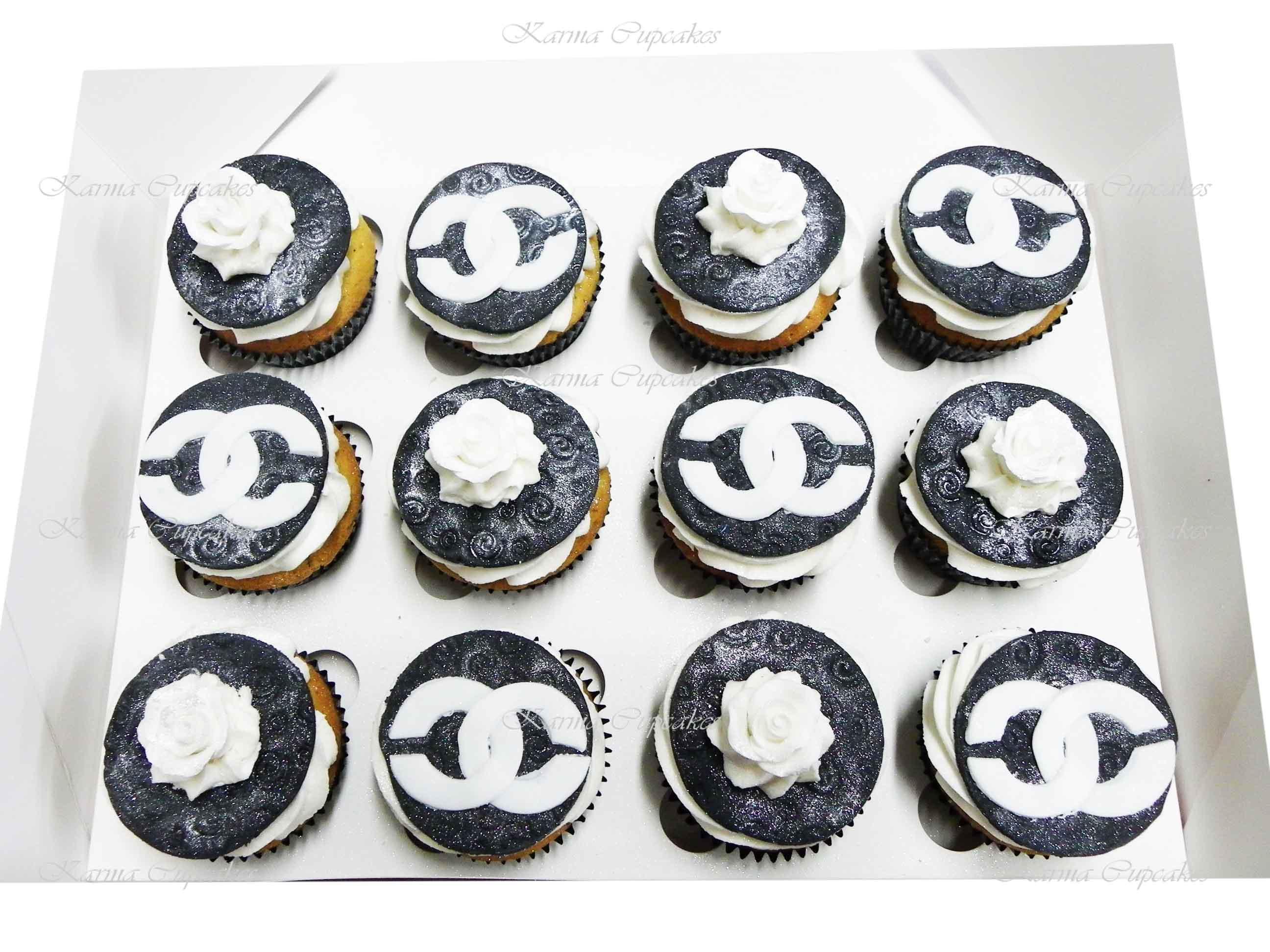 Chanel Cupcakes - Design 1
