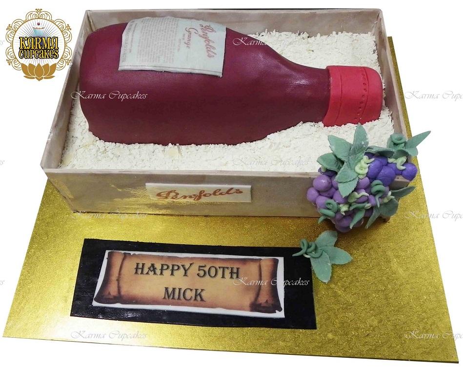 Penfolds Port Birthday Cake - Choose your Bottle