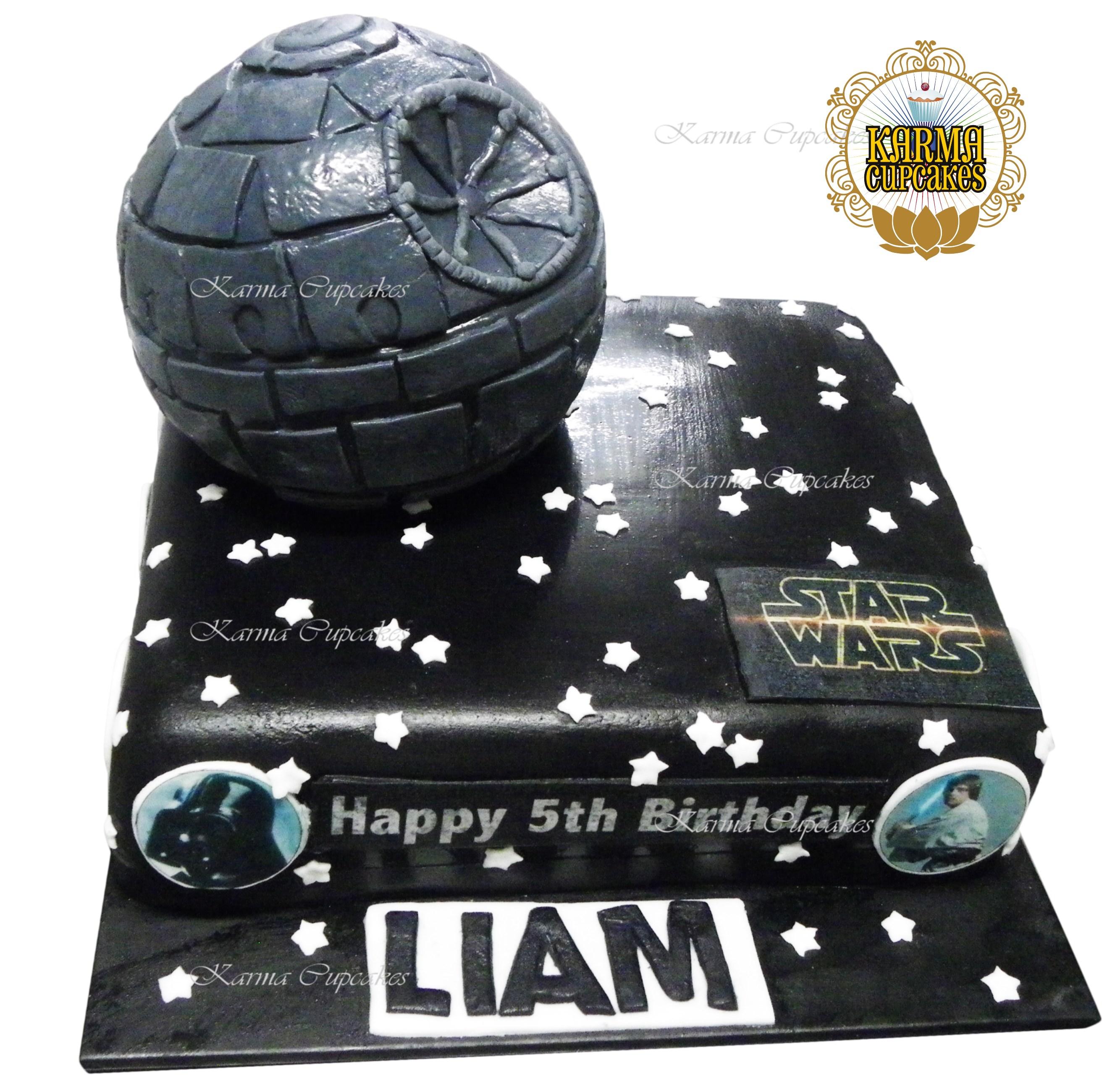 Star Wars Slab Cake