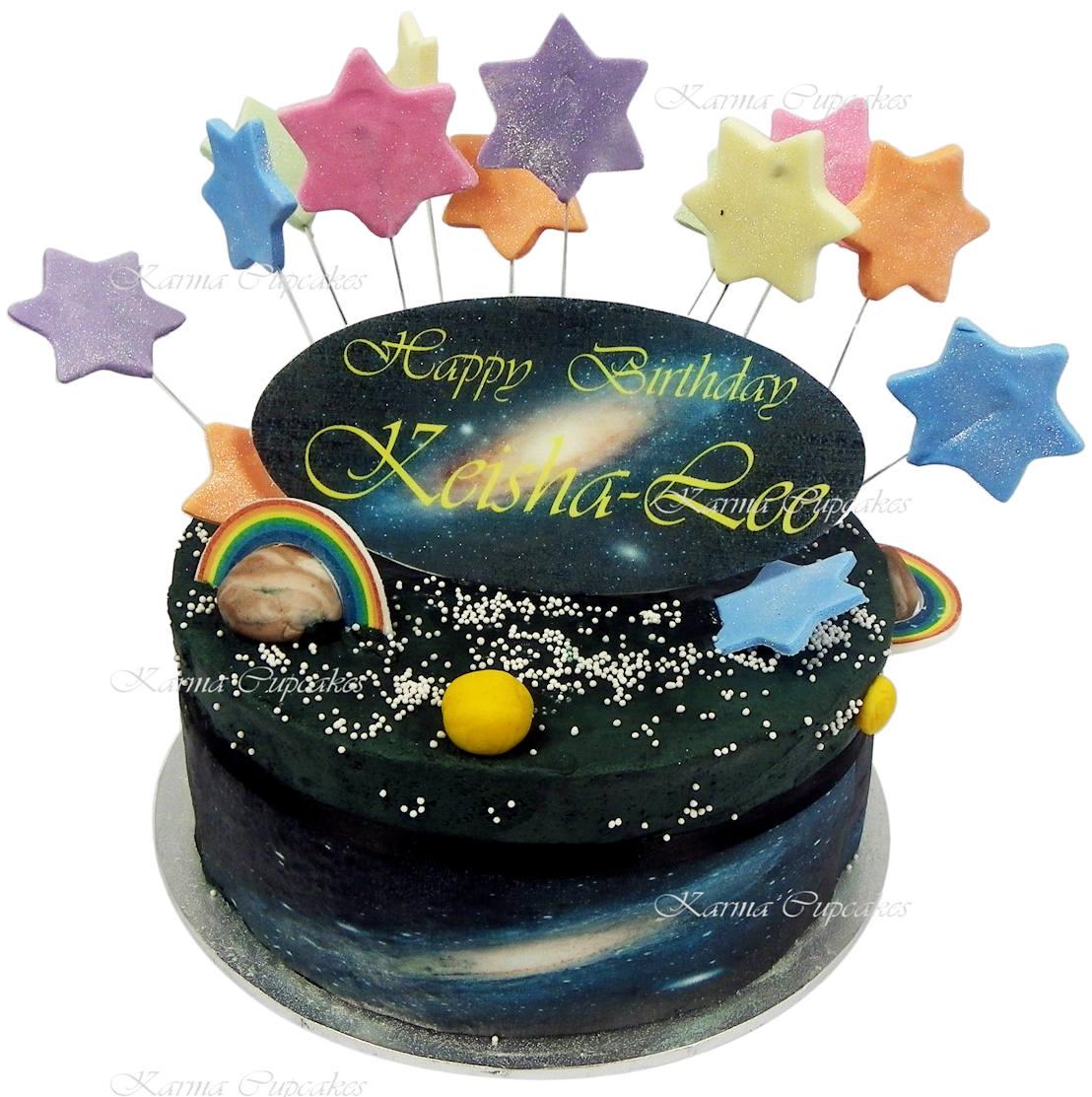 kids star Birthday cake copy