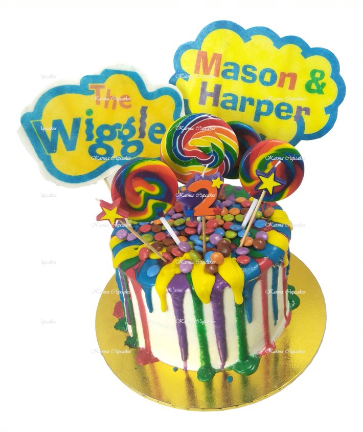 Wiggles-2nd-birthday-rainbow-edible-images-lollies-lollipops-(3)